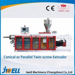 China Reliable Durable Twin Screw Pelletizer , Plastic Pelletizing Line Long Service Life on sale