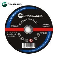 Quality Angle Abrasive Metal Cutting 115 X 3mm Inox Grinding Discs For X Lock Grinders wholesale