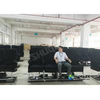 Quality Motion Chair 4D Movie Theater With Special Systerm And Metal Screen wholesale