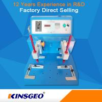 Quality Wear Resistant Rubber Testing Equipment , Leather / Cloth / Coating Abrasion Testing Equipment wholesale