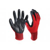 Quality Nitrile Coated Cut Resistant Safety Work Gloves/CRG-03-R wholesale