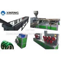 China 120 M / Min Speed PET Bottle Recycling Machine Pet Strap Production Line on sale