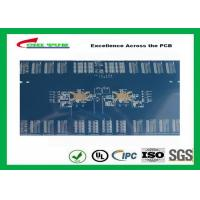 Quality 3.8mm 12 Layer Quick Turn PCB Prototypes Blue Solder Mask PCB OEM wholesale