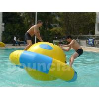 Quality Kids And Adults Inflatable Saturn Rocker Used In Hotel Or Pool wholesale