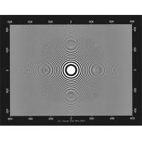 Quality 3NH ITE Circular Zone Plate Chart  Camera Test Chart wholesale
