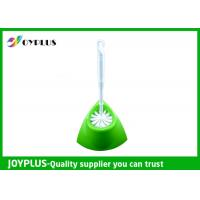 Quality Bathroom Cleaning Accessories Antibacterial Toilet Brush Set For Home / Hotel wholesale