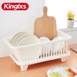 China Cupboard Dish Kitchen Storage Racks Plastic Basket Organizer Holders on sale