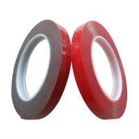 China 90°C Heat Resistant VHB Acrylic Foam Tape Moisture Proof Clear / Red Color on sale