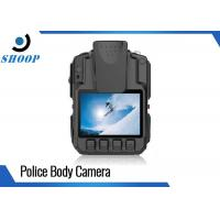 Quality High Resolution WIFI Police Body Cameras With GPS Drop Resistance 2m wholesale