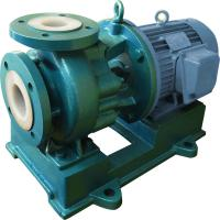 Quality Chemical Transfer Pump horizontal / Electric Centrifugal Pump IHF 50-32-160 D wholesale