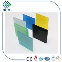 Quality PVB White / Colored Laminated Glass Panels big sheet with 0.38mm 0.76mm wholesale