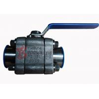 Quality Reduced Bore Soft Seated Ball Valve F316L , 800LB Small Forged Ball Valve wholesale