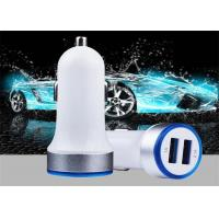 China Cheap Price Portable Universal Fast Charging Electric 5V 2.4A Mobile Smart IC Dual Ports Usb Phone Car Charger For iPhon on sale