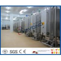 Quality 2TPH 5TPH Energy Drink Beverage Production Line With Beverage Filling Equipment wholesale