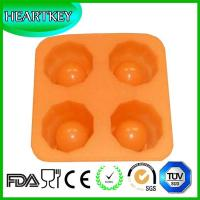 Quality Flower Shaped 4 Holes Silicone Bakeware Cake Cookie Muffin Mold wholesale