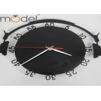 Quality Fashion Earphone Acrylic Wall Clock With Numbers For Home Decoration wholesale