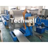 Quality Hydraulic Or Automatic Decoiler Machine With Automatically Uncoiling , Hydraulic Expanding , Tension wholesale