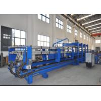 Quality PLC Touch Screen Control Polyurethane Sandwich Panel Line For Color Steel Sheet wholesale