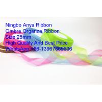 Quality Ombre organza ribbon flower,Gift Ribbon,Organza ribbon,fashion ribbon,Organza,Polyester,OrganzaClothing Accessories wholesale