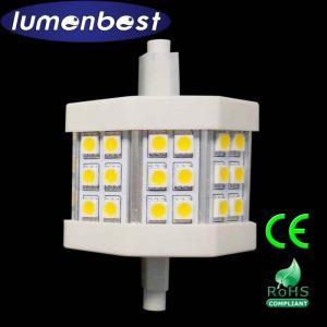 Quality R7S LED R7S BULB 18SMD(5050)Aluminum+Plastic 4.5W 78mm(78mm*54mm) wholesale