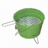 Quality Charcoal Barbecue Grill with 0.7mm Steel Plate Thickness, Measures Ø35.5cm wholesale