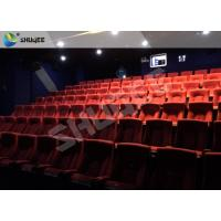 Quality Playground Indoor Movie Theater Sound Vibration 4D Cinema Equipment With 500 Films wholesale