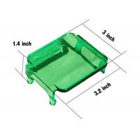 Cheap Green Cover For Cube 2X2 LED Lights Vehicle Accessories For 12V jeep Trucks for sale