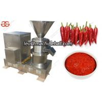 Quality Chili Paste|Chili Butter|Pepper Paste Grinding Machine With Factory Price For Sale wholesale