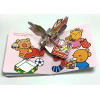 Quality Educational Custom Printed Books  for Kids , 3D Picture Custom Photo Books wholesale