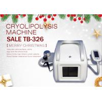 China Touch Screen Cryo Cavitation RF Slimming Machine For Double Chin Fat Reduction on sale