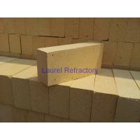 China Glass Kiln High Alumina Brick , High Temperature Resistent Refractory Bricks on sale