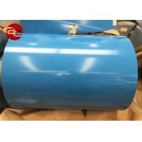 Quality PPGI Or PPGL Color Coated Steel Coil / ASTM Pre Coated Galvanized Sheets wholesale