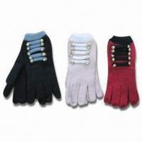 Quality Adult's Gloves, Customized Designs are Accepted, OEM Orders are Welcome wholesale