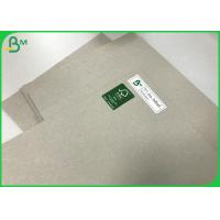China Hardbook Cover Board 1.5mm 1.7mm Uncoated Grey Paper Board Sheets 100 * 80CM on sale
