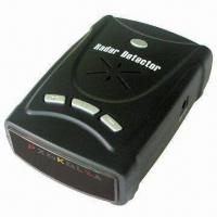 Quality High Performance Car Radar/Laser Detector with Ultra Bright Data Display wholesale