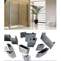 Quality Alloy 6000 T3- T8 Silver Polished Aluminium Extrusion Profiles For Shower Room Applicaton wholesale