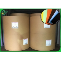 China 150gsm Colored Uncoated Paper For Making Hard Cover Book End Sheet on sale