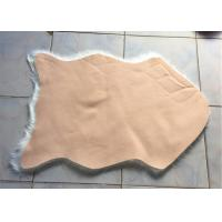 Quality Home Living Room Fluffy Faux Fur Rug , Anti Slip White Faux Fur Area Rug  wholesale
