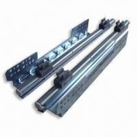 Quality Self Closing Full Extension Drawer Slides for Wire Metal Basket, Available in Various Sizes wholesale