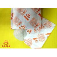 Quality Powerful Food Grade Desiccant Packets Calcium Chloride Material , No Leakage wholesale