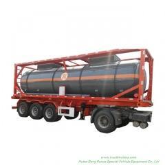 30FT 40FT Sulfuric Acid ISOTank Container 25KL -30KL
