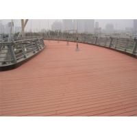 Quality Anti - Slipping Environment Friendly Wood Plastic Composite WPC Decking Boards wholesale