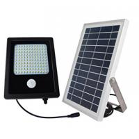 Quality High Output  Solar Powered Flood Lights , 120 LED Solar PIR Security Light wholesale