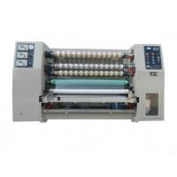 Quality Adhesive Tape Slitting Machine For BOPP / PVC / PET / PE And Themal Paper wholesale