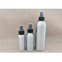 Quality Silver Color Aluminum Cosmetic Bottles For Cosmetic Packaging Custom Size wholesale