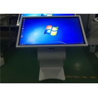 Buy cheap White Multi Point IR Touch LCD Touch Screen Information Kiosk 55 Inch product