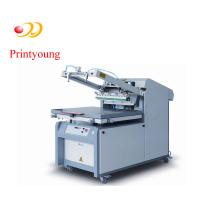 Quality Semi - Automatic Paper / Label Silk Screen Printing Equipment 380V 3kw wholesale