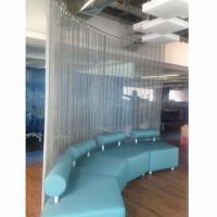 Quality Coil Drapery/Room Divider/Stair Cladding and Screen, Made of Aluminum Alloy wholesale