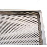 Quality Stackable Perforated Stainless Steel Tray Food Grade Rectangle Baking Tray wholesale