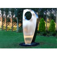 Quality Contemporary Metal Yard Art Stainless Steel Sculpture For Garden Decoration wholesale